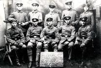 Die -67- in Hasselt  Kriegsjahr 1917  Erste Reihe links- Otto Maeurer