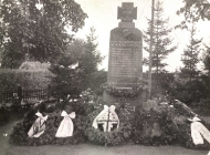 Das alte Denkmal - Gedenktafel 1914-1918
