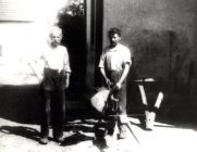 Schmiedemeister Molz und Jakob Maurer