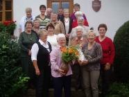 Die Turnerfrauen feiern Okt. 2010