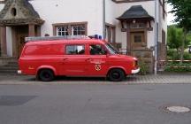 Altes Feuerwehrauto