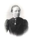 Berta Maurer geb  Kistner um 1900