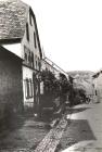 Die Hauptstraße von Baerweiler im Jahre 1933